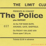 The Police Sheffield Top Rank 1979