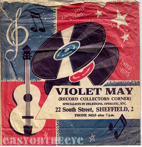 Violet May records Sheffield